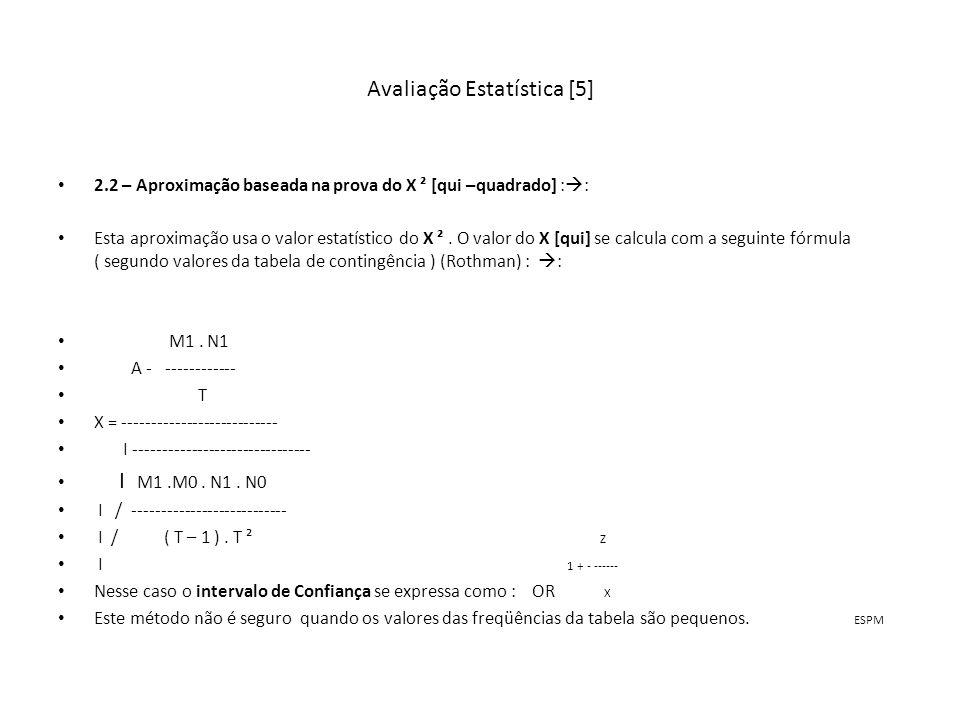 Avaliação Estatística [5]